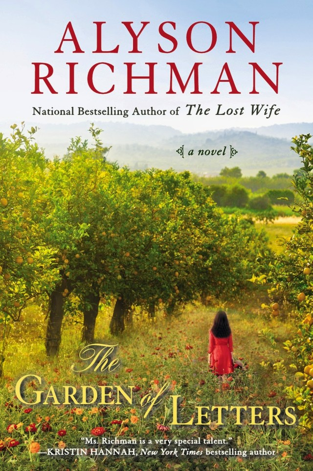 THE GARDEN OF LETTERS BY ALYSON RICHMAN: BOOK REVIEW