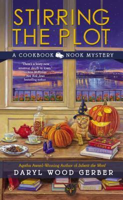 STIRRING THE PLOT (COOKBOOK NOOK MYSTERY, BOOK #3) BY DARYL WOOD GERBER: BOOK REVIEW