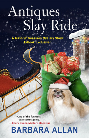 ANTIQUES SLAY RIDE (TRASH 'N' TREASURES MYSTERY, BOOK #7.5) BY BARBARA ALLAN: BOOK REVIEW