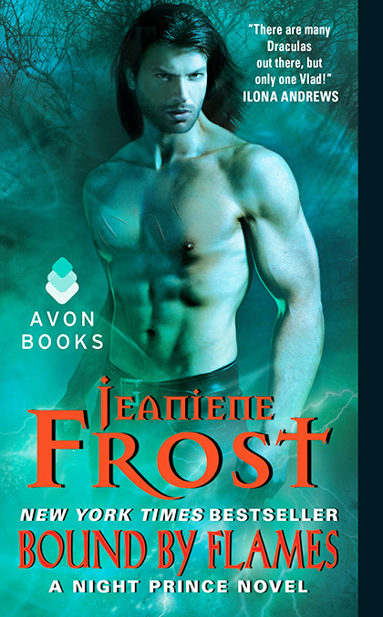 BOUND BY FLAMES (NIGHT PRINCE, BOOK #3) BY JEANIENE FROST: BOOK REVIEW