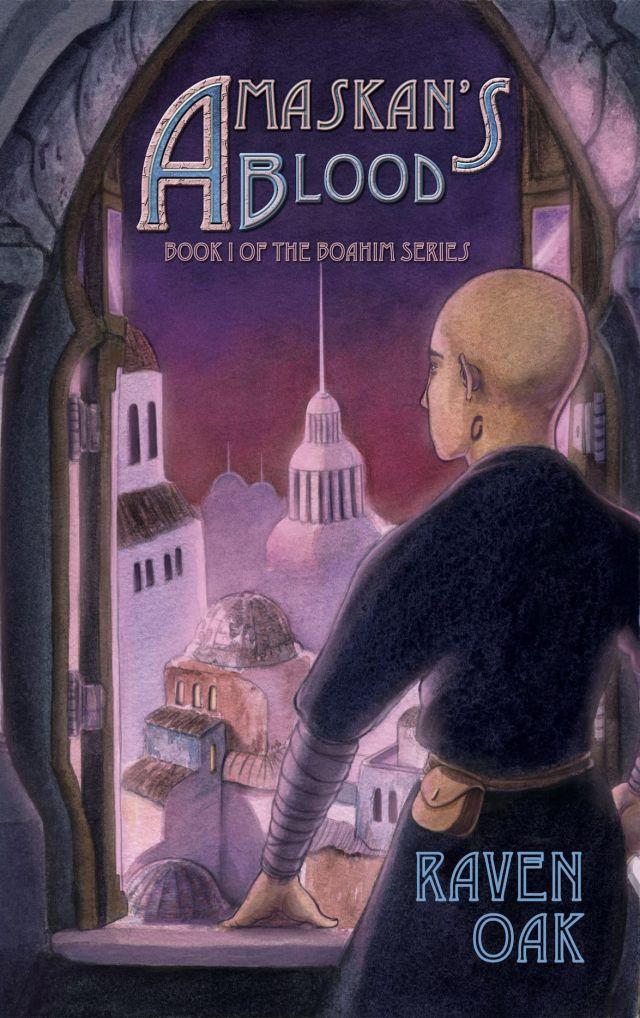 AMASKAN'S BLOOD (BOAHIM, BOOK #1) BY RAVEN OAK: BOOK REVIEW