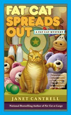 FAT CAT SPREADS OUT (A FAT CAT MYSTERY #2) BY JANET CANTRELL: BOOK REVIEW