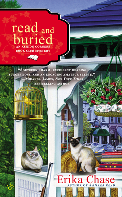 READ AND BURIED (AN ASHTON CORNERS BOOK CLUB MYSTERY, BOOK #2) BY ERIKA CHASE: BOOK REVIEW