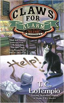 CLAWS FOR ALARM (NICK AND NORA MYSTERIES SERIES, #2) BY T.C. LOTEMPIO: BOOK REVIEW