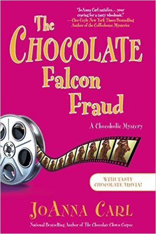 THE CHOCOLATE FALCON FRAUD (A CHOCOHOLIC MYSTERY #15) BY JOANNA CARL:BOOK REVIEW