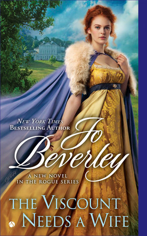 THE VISCOUNT NEEDS A WIFE (COMPANY OF ROGUES, BOOK #17) BY JOE BEVERLY: BOOK REVIEW