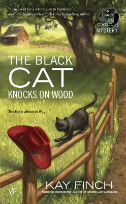THE BLACK CAT KNOCKS ON WOOD (A BAD LUCK CAT MYSTERY, BOOK #2) BY KAY FINCH: BOOK REVIEW