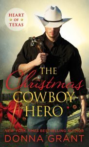 THE CHRISTMAS COWBOY HERO (HEART OF TEXAS, BOOK #1) BY DONNA GRANT: BOOK REVIEW