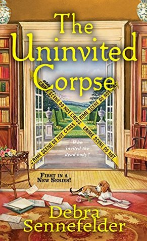 THE UNINVITED CORPSE (FOOD BLOGGER MYSTERIES #1) BY DEBRA SENNEFELDER: BOOK REVIEW
