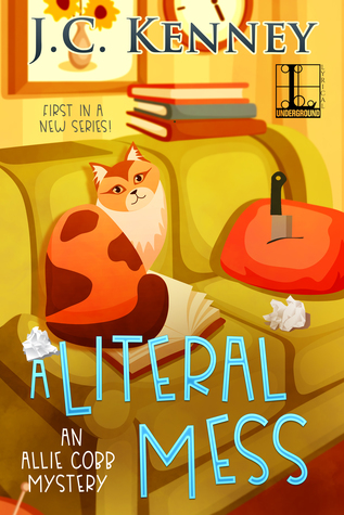 A LITERAL MESS (ALLIE COBB MYSTERY #1) BY J.C. KENNEY: BOOK REVIEW