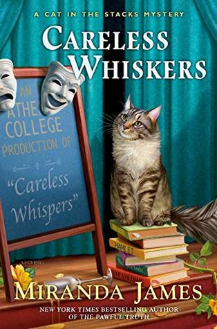 CARELESS WHISKERS (CAT IN THE STACKS #12) BY MIRANDA JAMES: BOOK REVIEW