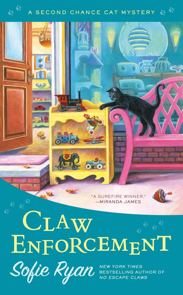 CLAW ENFORCEMENT (SECOND CHANCE CAT MYSTERY #7) BY SOFIE RYAN: BOOK REVIEW