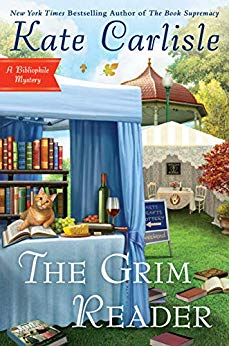 THE GRIM READER (BIBLIOPHILE MYSTERY #14) BY KATE CARLISLE: BOOK REVIEW