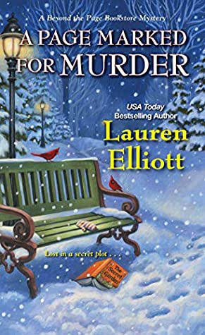 A PAGE MARKED FOR MURDER (BEYOND THE PAGE BOOKSTORE MYSTERY, #5) BY LAUREN ELLIOTT: BOOK REVIEW