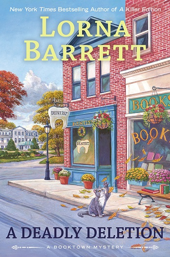 A DEADLY DELETION (BOOKTOWN MYSTERY, BOOK #15) BY LORNA BARRETT: BOOK REVIEW