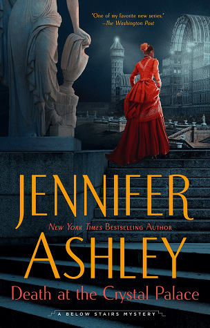DEATH AT THE CRYSTAL PALACE (KAT HOLLOWAY MYSTERY, #5) BY JENNIFER ASHLEY: BOOK REVIEW