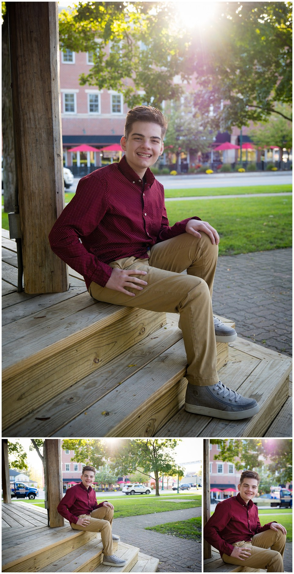 Dexter High School Senior Photos Downtown Dexter