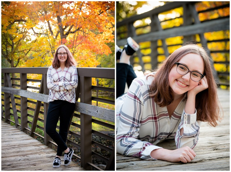 Michigan High School Senior Photos in Hudson Mills