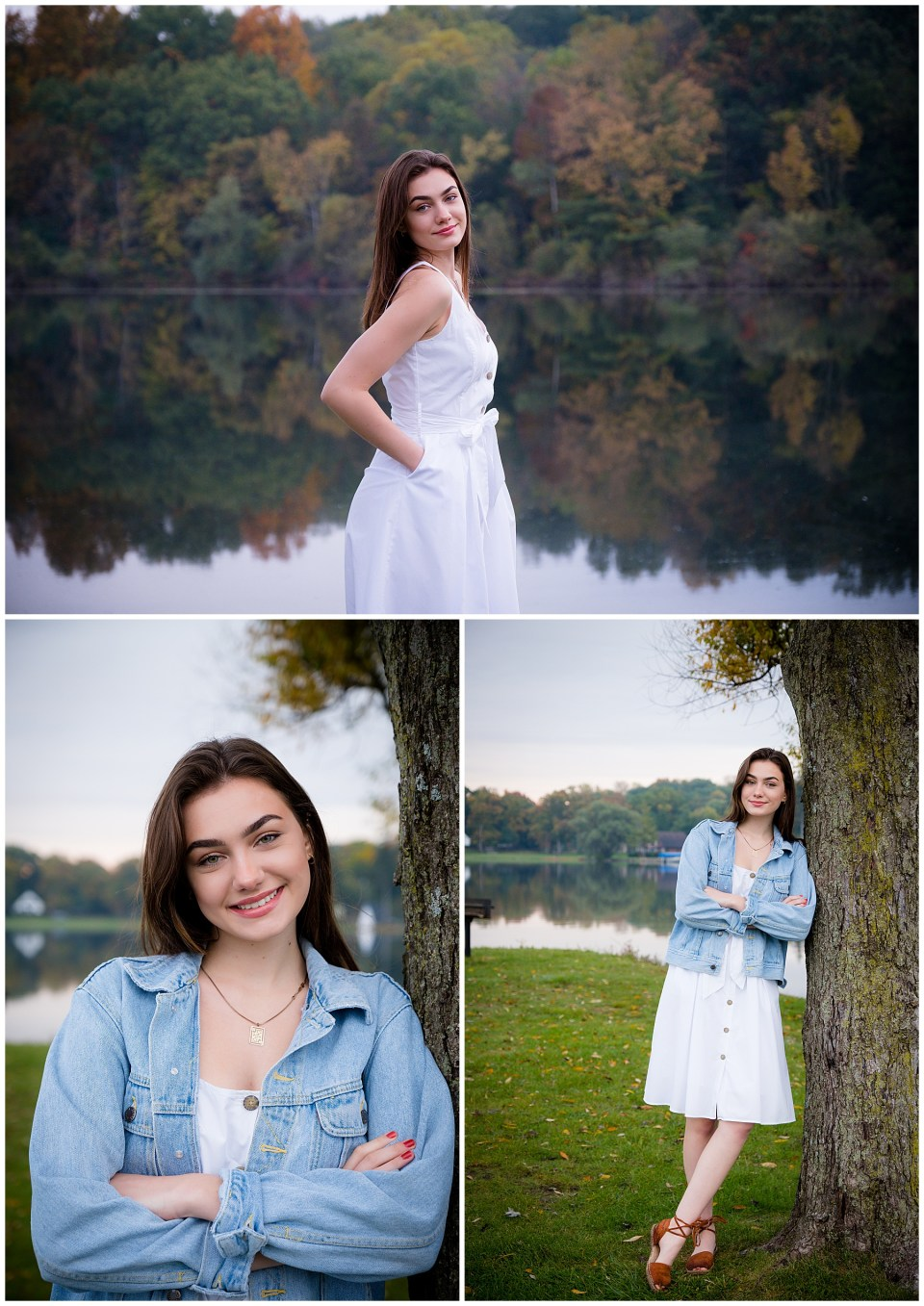 Michigan High School Senior Photos at Silver Lake