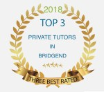 Listed as one of the Top 3 Private Tutors in Bridgend 2018