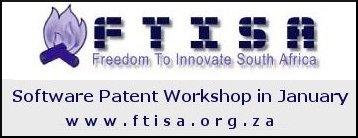 FTISA Software Patent Workshop inJanuary
