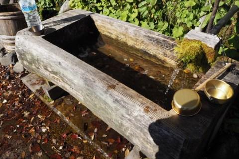 三谷 天然 湧水