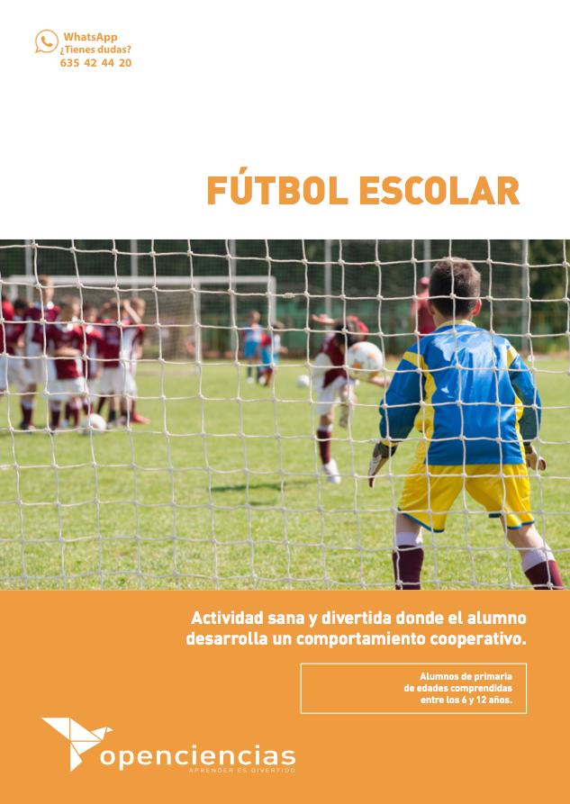 Fútbol Escolar