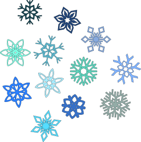Snowflakes by spacefem