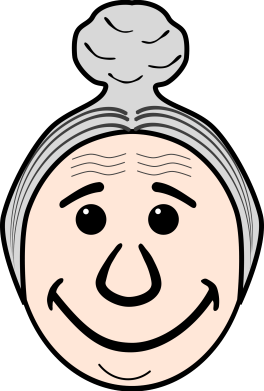 Grandma's face by frankes