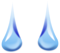 Dew Drops by Merlin2525 - Some Dew Drops I drew for another drawing using Inkscape.