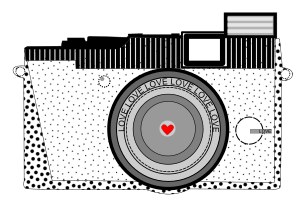Download Clipart - Classic Love Camera
