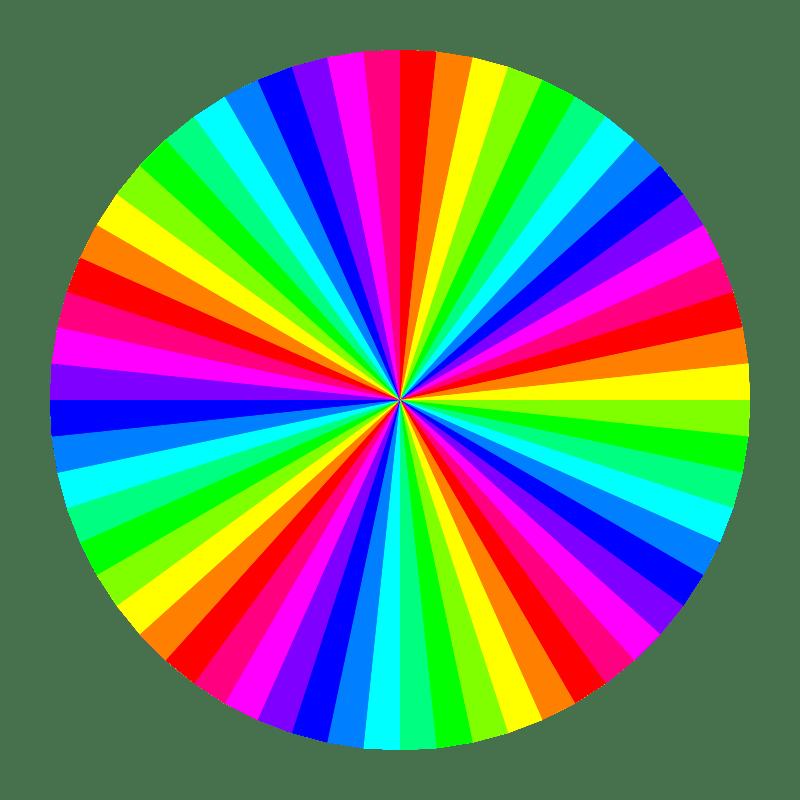 clipart 12 color 60gon