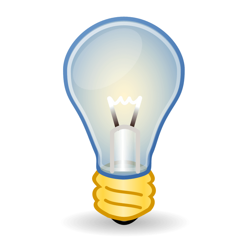 Image Result For Light Bulb Vector Icon
