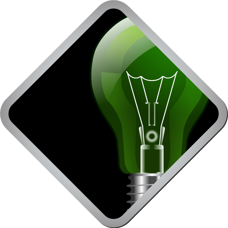Idea Icon by J32 - Icon with light bulb.