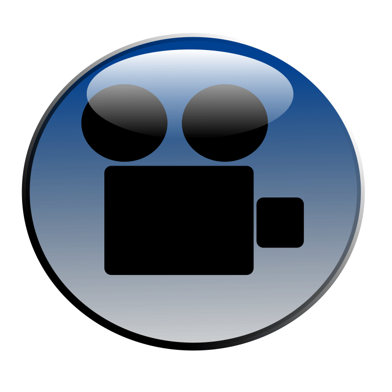 clipart video icon