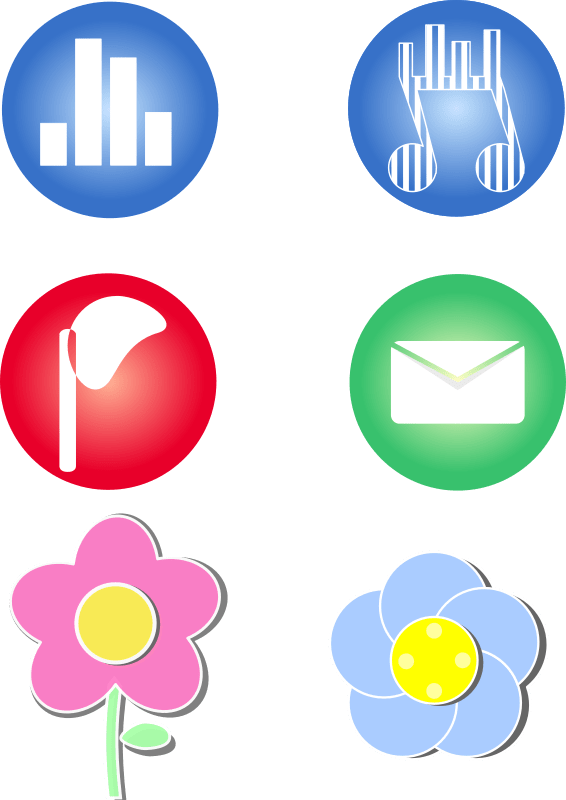 Clipart Icons For Cellphone