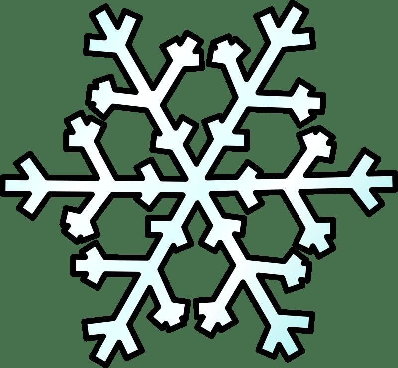 weather symbols by nicubunu flake