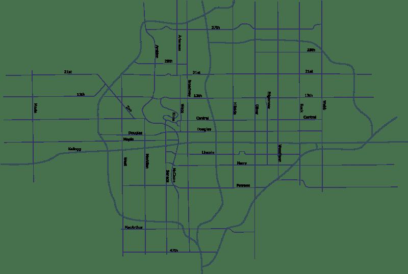 Bronson Kansas Street Map