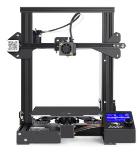 Front view of the Ender 3 Pro