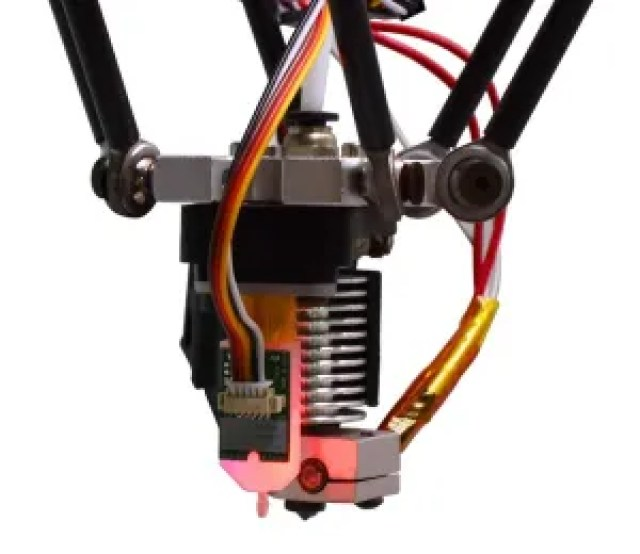 BLTouch attached on a extruder head
