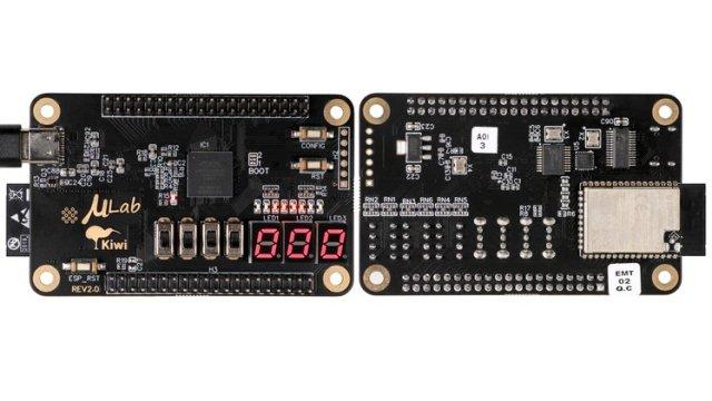 µLab Kiwi FPGA development board