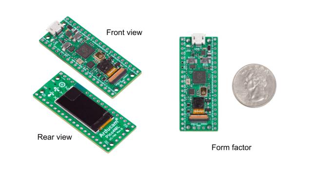 onboard camera boards comparison arducam pico4ml