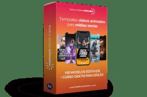 Pacote de Vídeos Animados Editáveis para Mídias Sociais