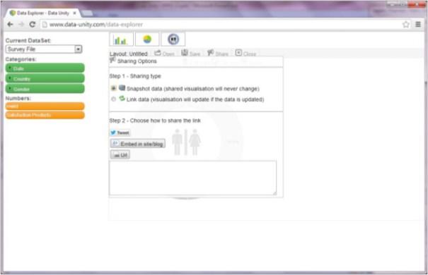 Data Unity Screenshot