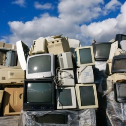 CRT Monitors in Landfill
