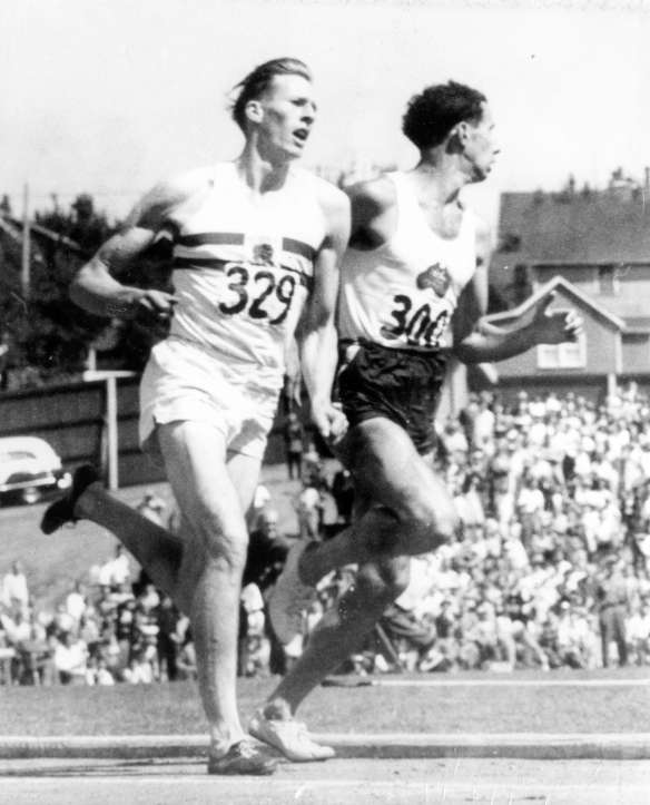 Bannister & Landy four-minute mile