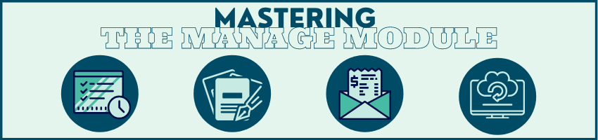 Mastering the Manage Module