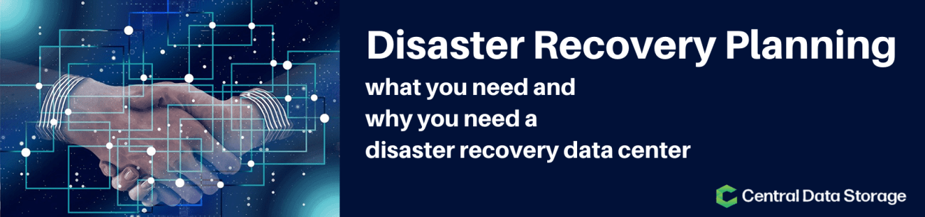 disaster recovery data center DR plan