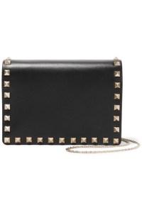Valentino The Rockstud Leather Shoulder Bag