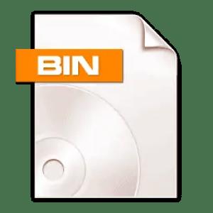 open bin file